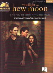 NEW MOON : THE TWILIGHT SAGA PIANO / VOCAL / GUITAR + CD PIANO PLAY-ALONT VOL.93 ANTIKVÁR
