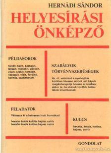 Hernádi Sándor - Helyesírási önképző [antikvár]
