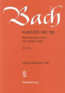 J. S. Bach - KANTATE NR.85 - ICHBIN EIN GUTER HIRT BWV 85. KLAVIERAUSZUG