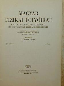 Kovács István - Magyar Fizikai Folyóirat XIV. kötet 2. füzet [antikvár]