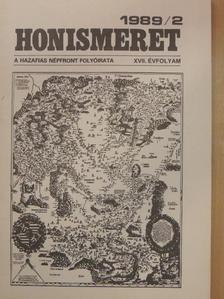 Csáky Pál - Honismeret 1989/2. [antikvár]