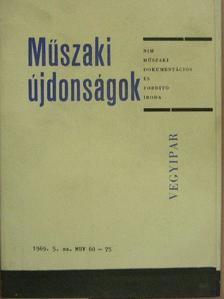 Borlai Oszkár - Műszaki Újdonságok 1969/5. MUV 60-75 [antikvár]