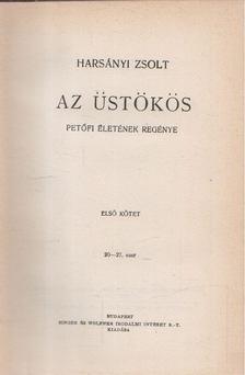 Harsányi Zsolt - Az üstökös I-III. [antikvár]