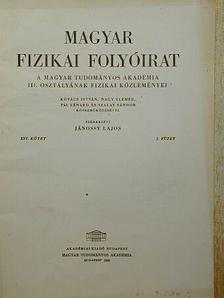 Kovács István - Magyar Fizikai Folyóirat XVI. kötet 2. füzet [antikvár]