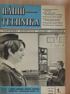 Kiss László - Rádiótechnika 1970-1971. január-december [antikvár]