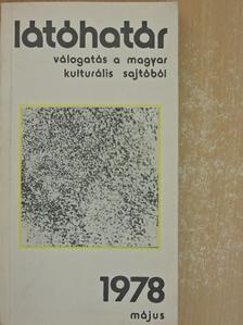 Bereményi Géza - Látóhatár 1978. május [antikvár]