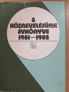 Fazekas Sándor - Köznevelésünk évkönyve 1981-1982 (dedikált példány) [antikvár]