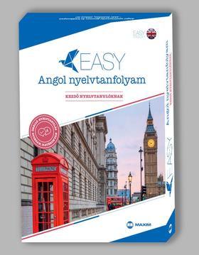 Sandra Stevens - Easy angol nyelvtanfolyam - Kezdő nyelvtanulóknak (nyelvkönyv+kísérőfüzet+2 audio és 1 mp3 CD)
