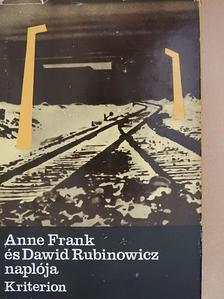 Anne Frank - Anne Frank és Dawid Rubinowicz naplója [antikvár]