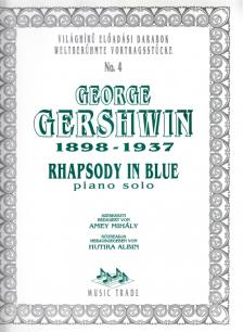 GERSHWIN - RHAPSODY IN BLUE FOR PIANO SOLO