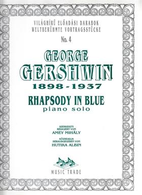 GERSHWIN - RHAPSODY IN BLUE FOR PIANO SOLO