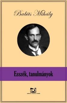 Babits Mihály - Esszék, tanulmányok [eKönyv: epub, mobi]