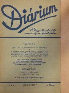B. Németh János - Diárium 1948. - Könyvnap [antikvár]