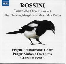 ROSSINI - COMPLETE OVERTURES 1 CD CHRISTIAN BENDA