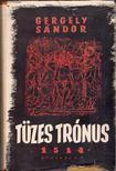 GERGELY SÁNDOR - Tüzes trónus 1514 [antikvár]