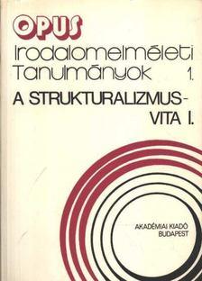 Szerdahelyi István - A struktruralizmus-vita I-II. kötet [antikvár]