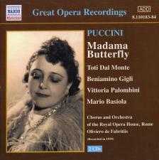 Puccini - MADAMA BUTTRFLY 2CD DE FABRICIUS