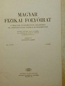 Kovács István - Magyar Fizikai Folyóirat XIII. kötet 2. füzet [antikvár]