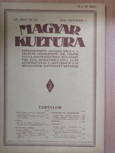 Bangha Béla S. J. - Magyar Kultúra 1928. október 5. [antikvár]