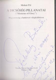 """Molnár Pál - A dicsőség pillanatai (""""Moments of Glory"""") (dedikált) [antikvár]"""