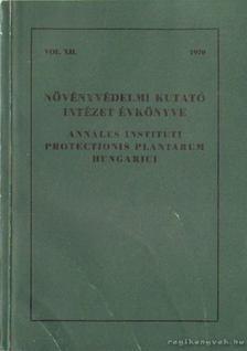 Dr. Kacsó András - Növényvédelmi Kutató Intézet Évkönyve 1970. [antikvár]