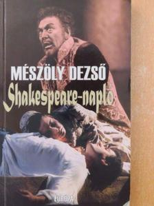 Mészöly Dezső - Shakespeare-napló [antikvár]