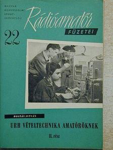 Rostás István - URH vételtechnika amatőröknek II. [antikvár]
