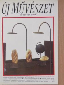 András Edit - Új Művészet 1993. január [antikvár]