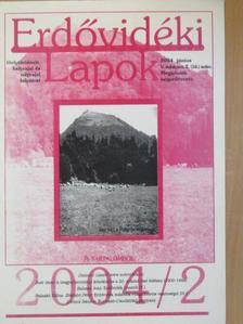 Balaskó Edina - Erdővidéki Lapok 2004. június [antikvár]