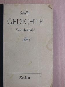 Friedrich Schiller - Gedichte [antikvár]