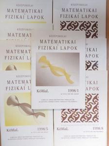 Bogdán Zoltán - Középiskolai Matematikai és Fizikai Lapok 1998. (nem teljes évfolyam) [antikvár]