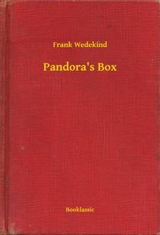 Wedekind Frank - Pandora's Box [eKönyv: epub, mobi]