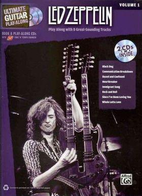 LED ZEPPELIN. ULTIMATE GUITAR PLAY-ALONG VOL.1 + CD