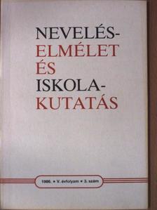 Páldi János - Neveléselmélet és iskolakutatás 1986/3. [antikvár]