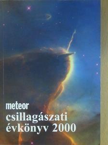 Kálmán Béla - Meteor csillagászati évkönyv 2000 (dedikált példány) [antikvár]