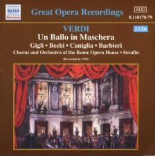 Verdi - UN BALLO IN MASCHERA 2CD SERAFIN