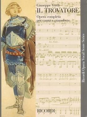 Verdi - IL TROVATORE PER CANTO E PIANOFORTE