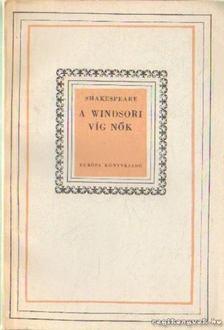 William Shakespeare - A windsori víg nők [antikvár]