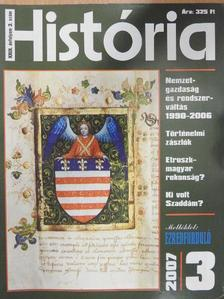 Bertényi Iván - História 2007/3. [antikvár]