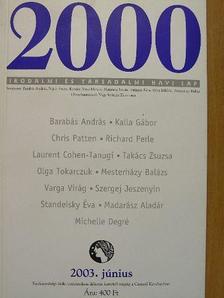 Chris Patten - 2000 2003. június [antikvár]