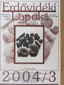 Balaskó Edina - Erdővidéki Lapok 2004. szeptember [antikvár]