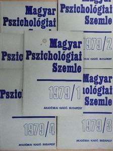 Angster Mária - Magyar Pszichológiai Szemle 1979/1-6. [antikvár]