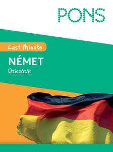Pons - Pons Last Minute Útiszótár német - új