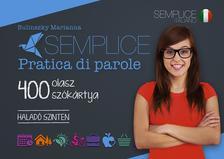 Bulinszky Marianna - Semplice Pratica di parole - 400 olasz szókártya - Haladó szinten