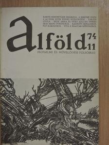 Babits Mihály - Alföld 1974/11. [antikvár]
