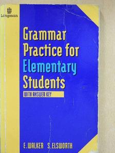 Elaine Walker - Grammar Practice for Elementary Students [antikvár]