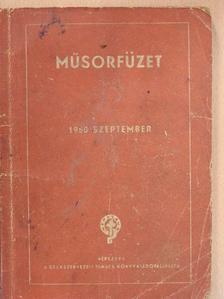 Aczél Tamás - Műsorfüzet 1950. szeptember [antikvár]