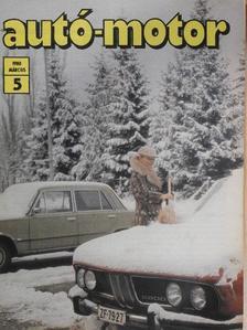 Földvári András - Autó-Motor 1980. március [antikvár]