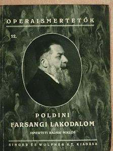 Poldini Ede - Farsangi lakodalom [antikvár]