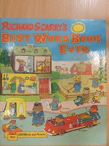 Richard Scarry - Best Word Book Ever [antikvár]